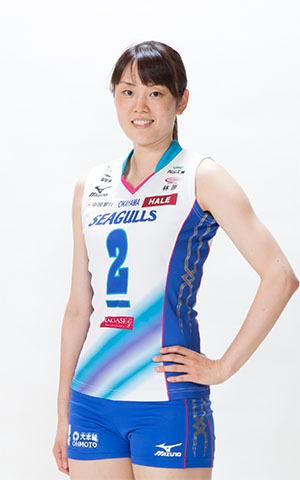 山口 舞選手(コートネーム:ユメ)